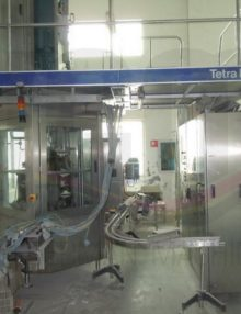 TETRA PAK TCA A1 150ML SLIMLINE ASEPTIC FILLING MACHINE 12