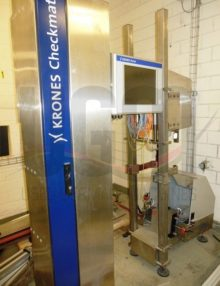Used Krones spoon presence and color vision system 3