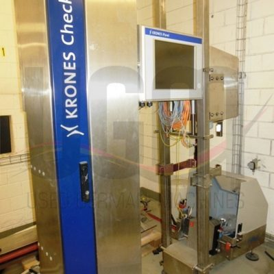 Used Krones spoon presence and color vision system