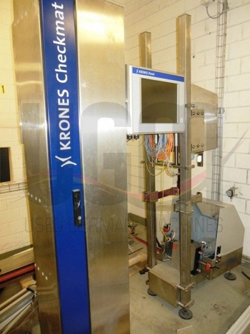 Used Krones spoon presence and color vision system 2