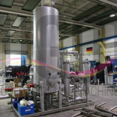 New Guthmann water purfication plant, 100 m³