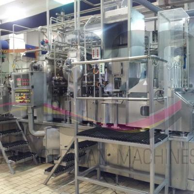 Used HAMBA BK 6004/4 cup filling and sealing machine