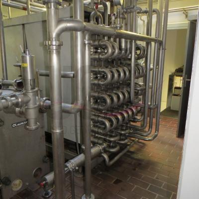 Alfa Laval® Steritube UHT plant, including homogenizer