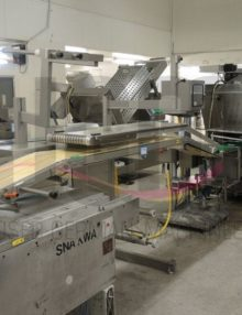 Used Dixie Slicer with Boekels checkweigher and outfeed conveyor 3