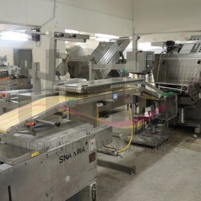 Used Dixie Slicer with Boekels checkweigher and outfeed conveyor