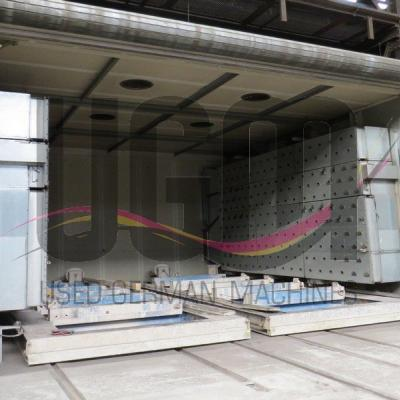 Double chamber drying plant