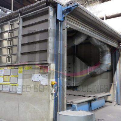 Single chamber drying plant