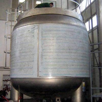 GAS 30000 LITRE STERILE TANK