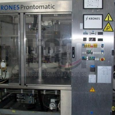 KRONES Prontomatic bottle labeling machine