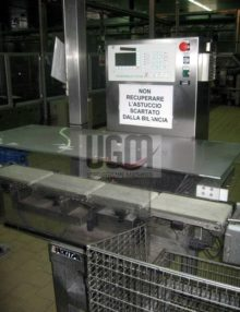PACKITAL CHECKWEIGHER WITH REJECTOR 1