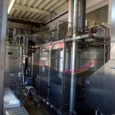 Used PET milk filling line