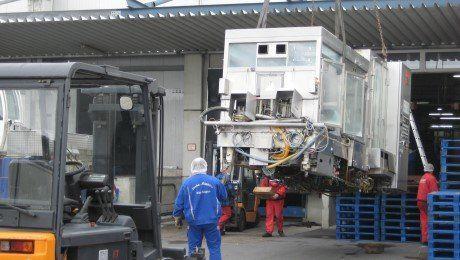 Machine dismantling & Shipping 2