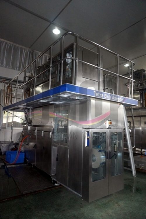 Used Tetra Pak TBA19 200ml Prisma filling machine 3