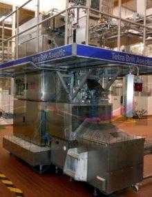 Filling machine Tetra Pak TBA19 250 ml Base 1