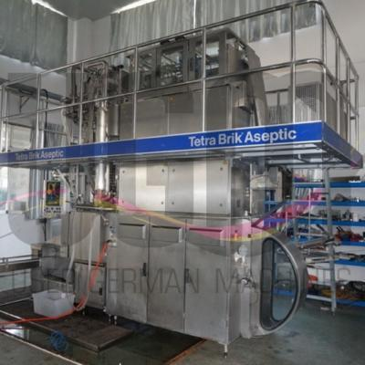 Used reconditioned Tetra Pak TBA19 250ml Slim filling machine