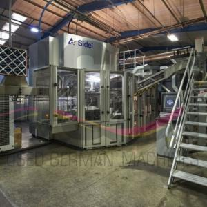 Complete PET Filling line for non-carbonated mineral water