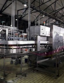 Glass bottling line capacity 16000 bph 3