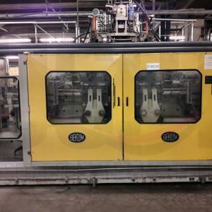Máquina de moldeo por soplado coextruder Bekum 603D