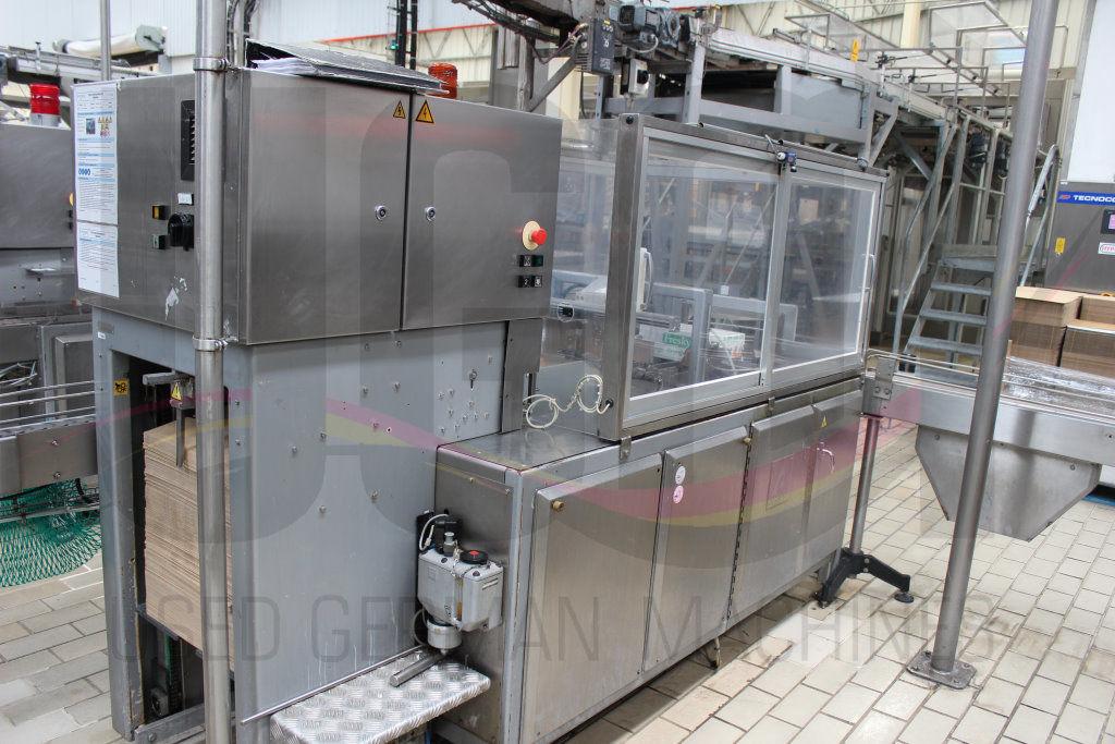 Used Tetra Pak TBA9 / 200 ml Slim filling line