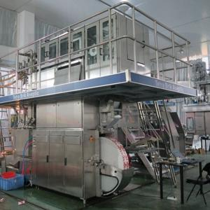 Used Tetra Pak® TBA 19 / 125 ml Slim filling line