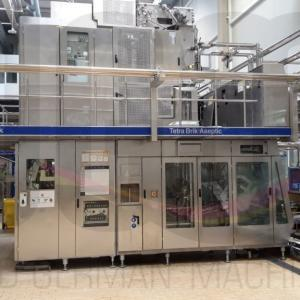 Used Tetra Pak® A3/Flex 1000 ml Prisma filling line
