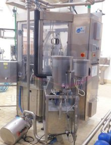 Fresh cheese filling line for cups 1