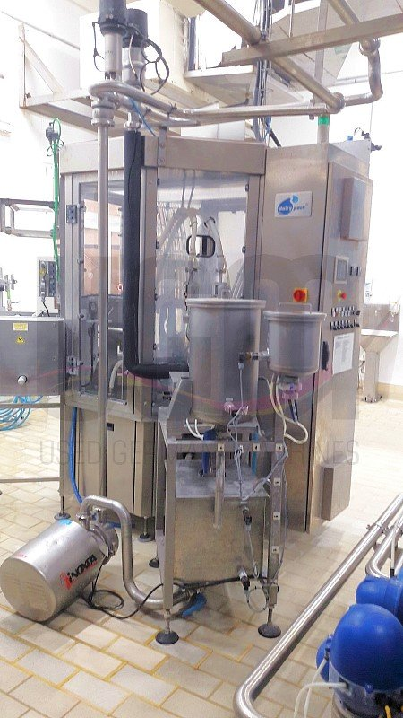 Fresh cheese filling line for cups 2