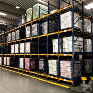 Used Pallet Racks First-in-first-out System