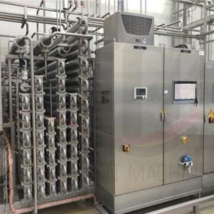 USED UHT Plant Finnah Eliquo (Bilfinger) 6.500 l/h including KHS Aseptic tank