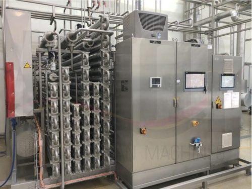 USED UHT Plant Finnah Eliquo (Bilfinger) 6.500 l/h including KHS Aseptic tank 2