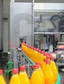 Used KRONES filling line for returnable glass bottles 2