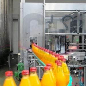 Used KRONES filling line for returnable glass bottles