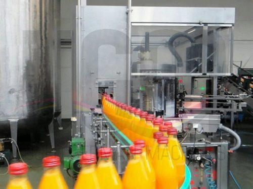 Used KRONES filling line for returnable glass bottles 1