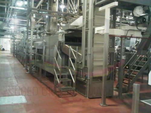 Used Heat & Control Potato Chips line for sale 1
