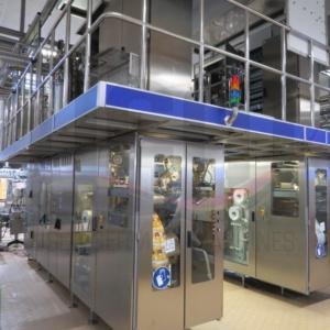 Used Tetra Pak® A3/CompactFlex 200/250 ml EDGE aseptic filling line